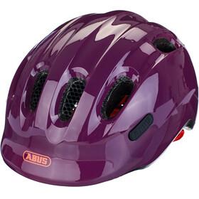 ABUS Smiley 2.1 Kask rowerowy Dzieci, fioletowy